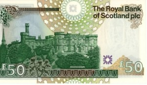 £50 Note Inverness Castle
