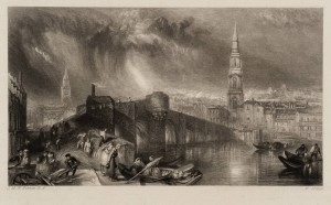 Inverness 1834-6 by Joseph Mallord William Turner 1775-1851